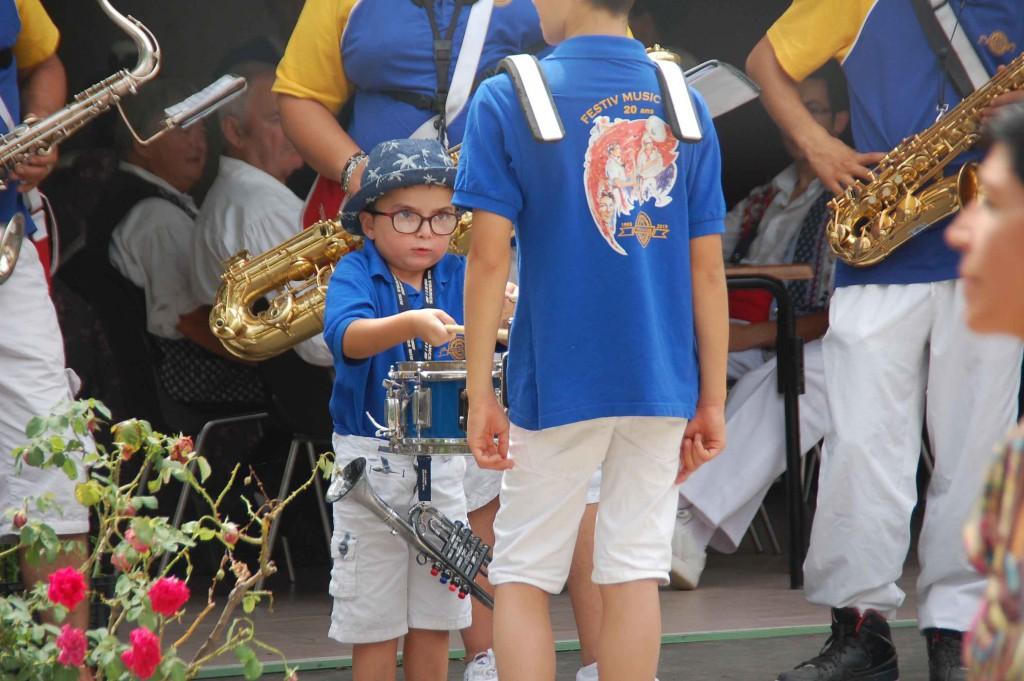 Fête des traditions - Le plus jeune de l'orchestre