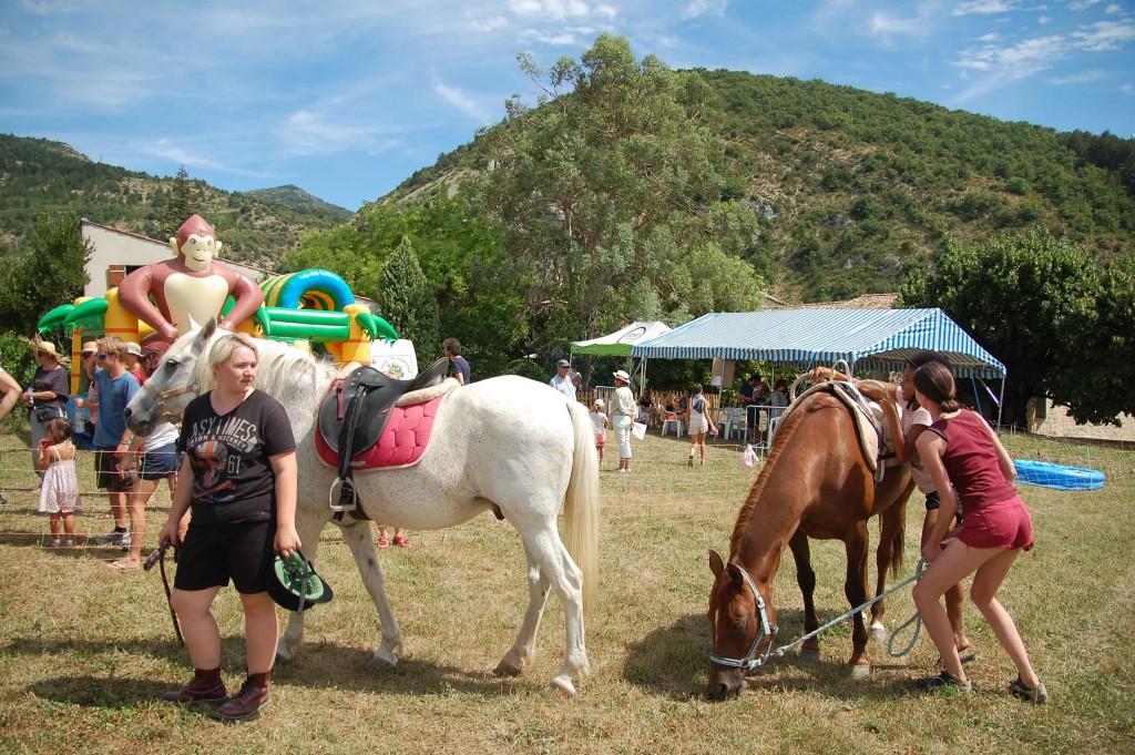 Fête des traditions - Balade à cheval pour les enfants