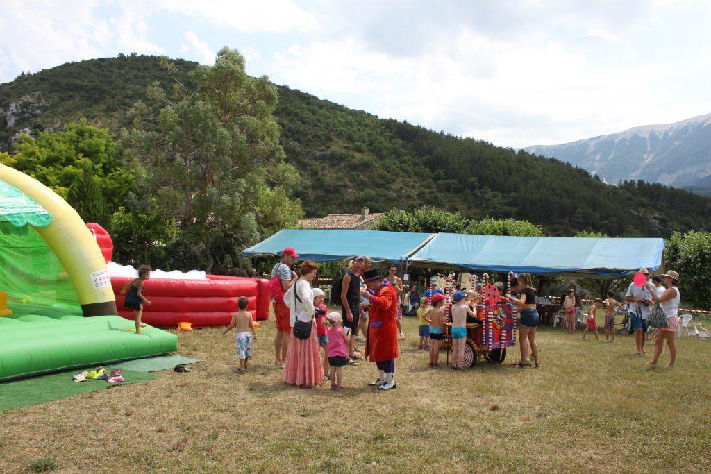 Le village des enfants  - Plaisians Pistou 2016