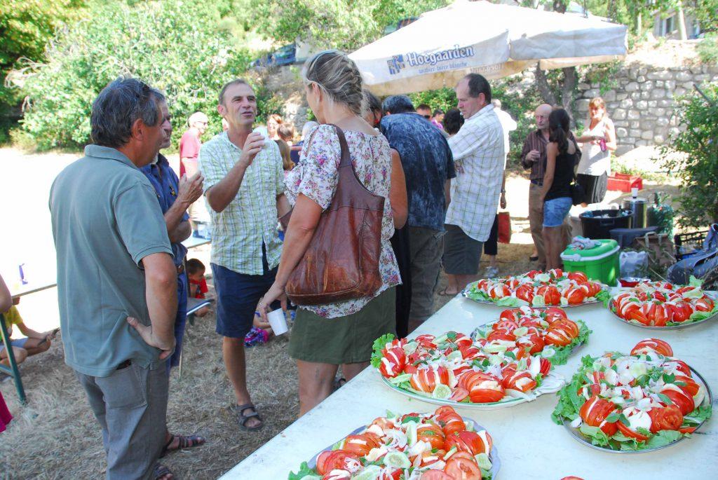 Repas de quartier 2016 - Les Rameaux Plaisians
